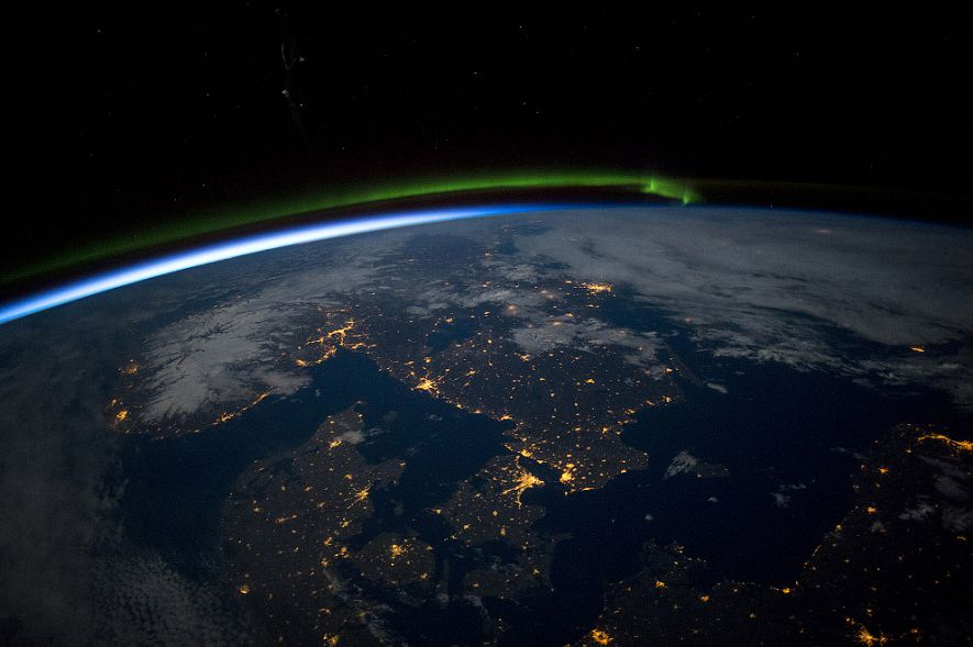 HighRes Images of Cities at Night from the International